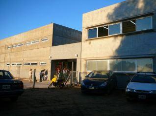 Exterior de la primera etapa del Instituto Mará deNazareth